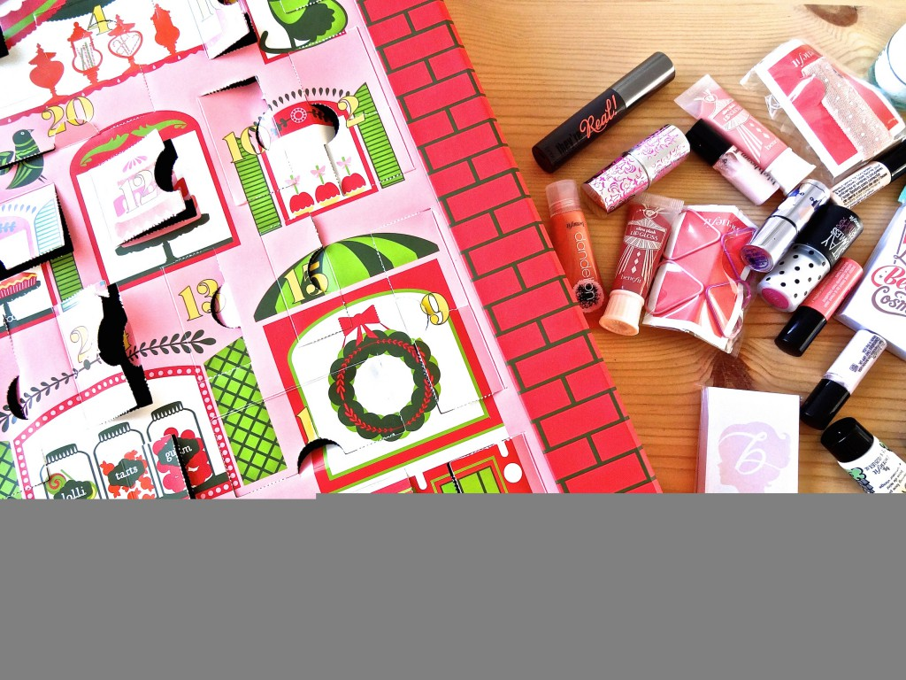 Candy Coated Countdown | Benefit Beauty Advent Calendar 2014