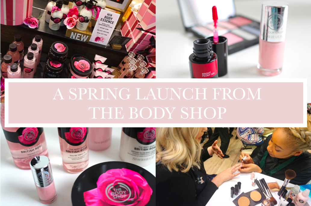 The Body Shop British Rose Collection